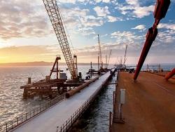 Крым становится ближе: строительство Керченского моста идет полным ходом