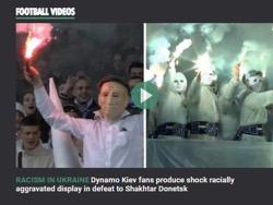 Британский таблоид назвал бесчинства украинских фанатов расизмом в России