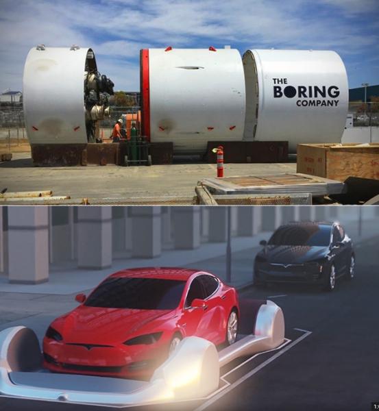 Photo of Видео дня: система подземных автомобильных тоннелей Элона Маска