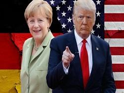 Дональд Трамп и Ангела Меркель: договориться не удалось!