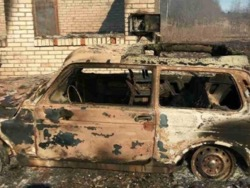 Как идиот нашел логово террористов и сжег деревню Лопец