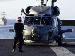 Photo of Истребитель с авианосца «Карл Винсон» рухнул при заходе на посадку