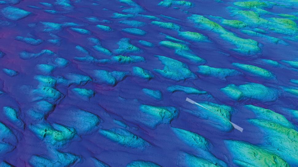 Уникальная карта морского дна