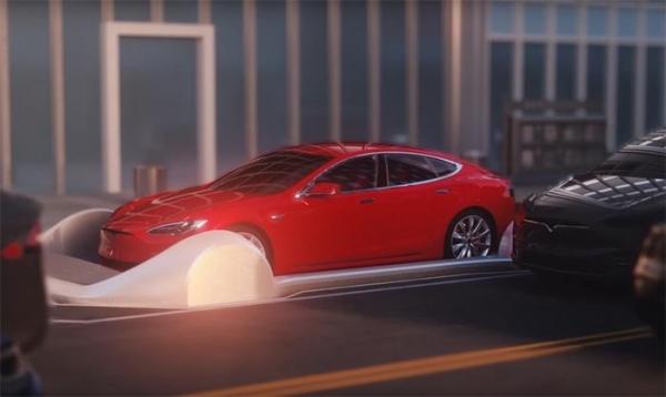 Видео дня: система подземных автомобильных тоннелей Элона Маска