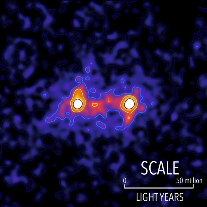 Ученые получили подробный снимок темной материи