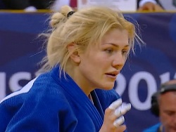 Украинская дзюдоистка Марина Черняк завоевала серебряную медаль на Гран при Тбилиси
