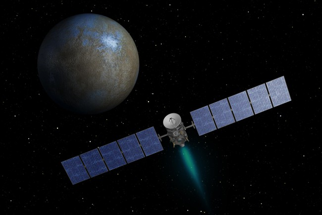Photo of Станция Dawn готовится взглянуть на Цереру с необычного ракурса