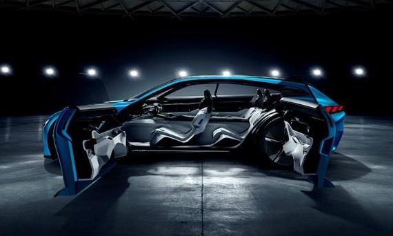 Концепт Peugeot подчеркивает преимущества автономности и подключенности