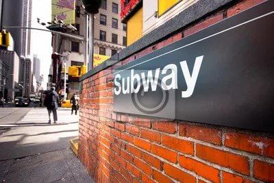 Нью йоркское метро 80 х годов