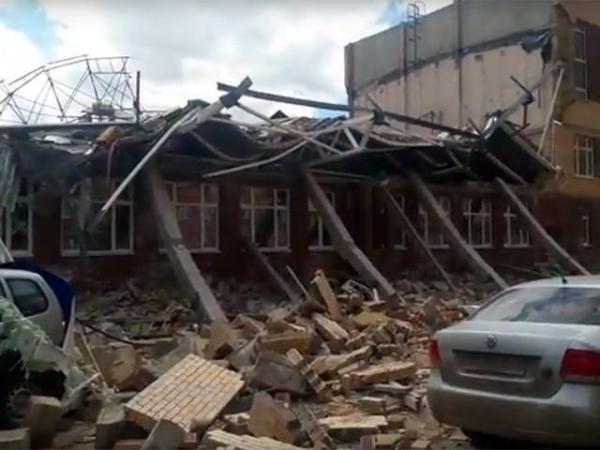 Photo of В Ленинградской области рухнул этаж почти достроенной школы