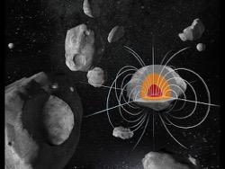 Миссия Психея по изучению металлического астероида стартует в 2022 году