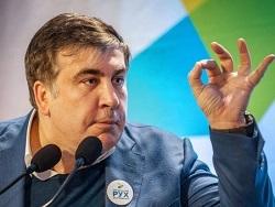Яйца и зеленка – Кривой Рог преподнес Саакашвили щедрый подарок