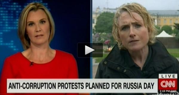 CNN: на протесты выходит поколение YouTube, но 80% россиян Путина поддерживают