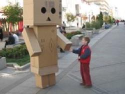 Департамент культуры платит миллионы за картонных роботов