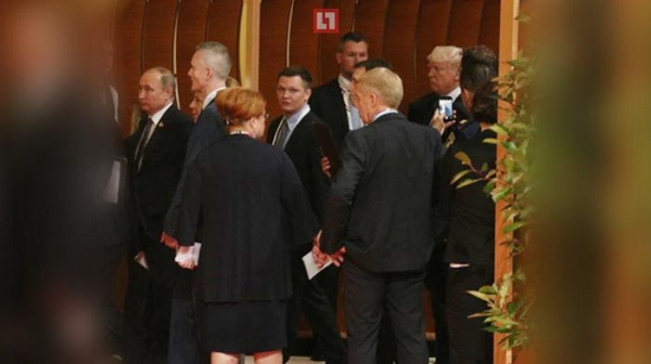 Путин и Трамп впервые пересеклись в кулуарах саммита G20