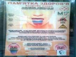 Photo of В скандальном плакате про «инфекцию русского языка» обнаружено 13 ошибок