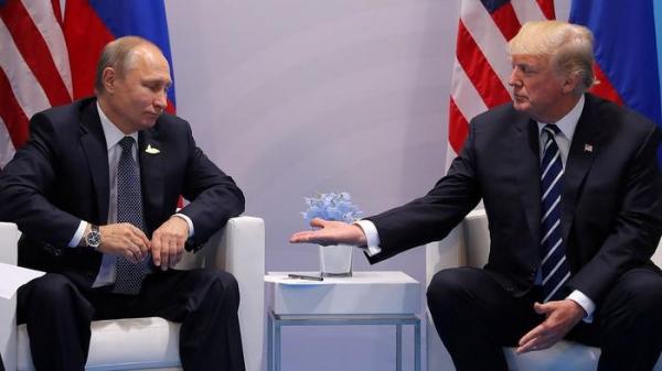 Первые переговоры Путина и Трампа