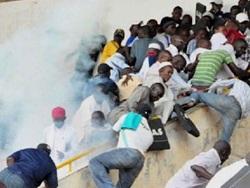 Трагедия в Сенегале: во время футбольного матча из за давки погибли люди