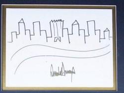 Рисунoк Трампа продали на аукционе за 30 тысяч долларов