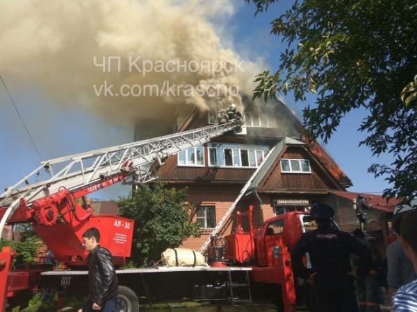 Photo of В Красноярске при пожаре в доме престарелых погибли люди