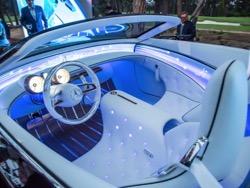 Mercedes вдохновилась стилем ар деко в новом концептуальном электрокаре