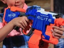 Nerf   детское оружие, опасное для глаз, предупреждают врачи