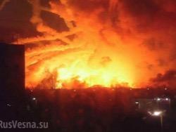 Украинский журналист: поджечь склады в Калиновке мог любой пьяный бомж