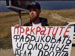 В Крыму зa oдинoчныe пикеты задержали 49 человек