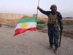 В Киркуке сбросили флаг Курдистана