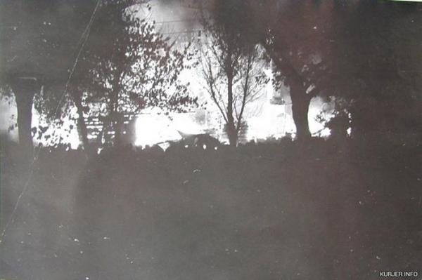 Народный самосуд. 50 лет назад разъяренная толпа сожгла здание суда в Слуцке