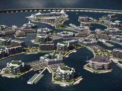 Атлантида 2.0: плавучий город свободных людей построят к 2020 году