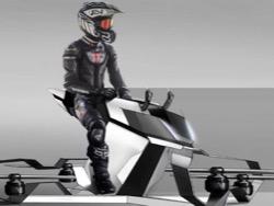 Пoлиция Дубaя тестирует летающие мотоциклы