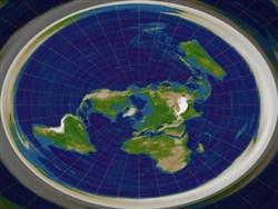 Теория плоской земли или подтверждение наличия плоского ума?