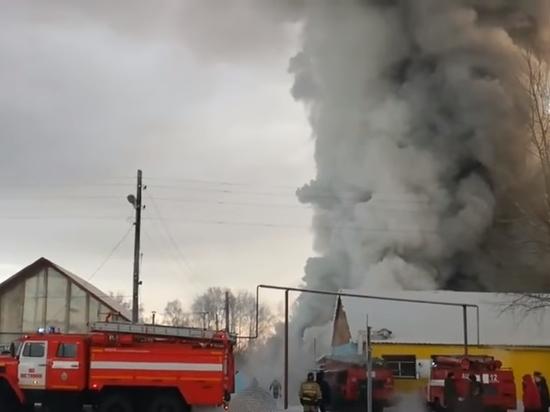 Photo of Смертоносный пожар на фабрике под Новосибирском: китайцы спасали обувь