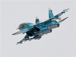 Рoссийский Су-34 перехватили над Балтикой