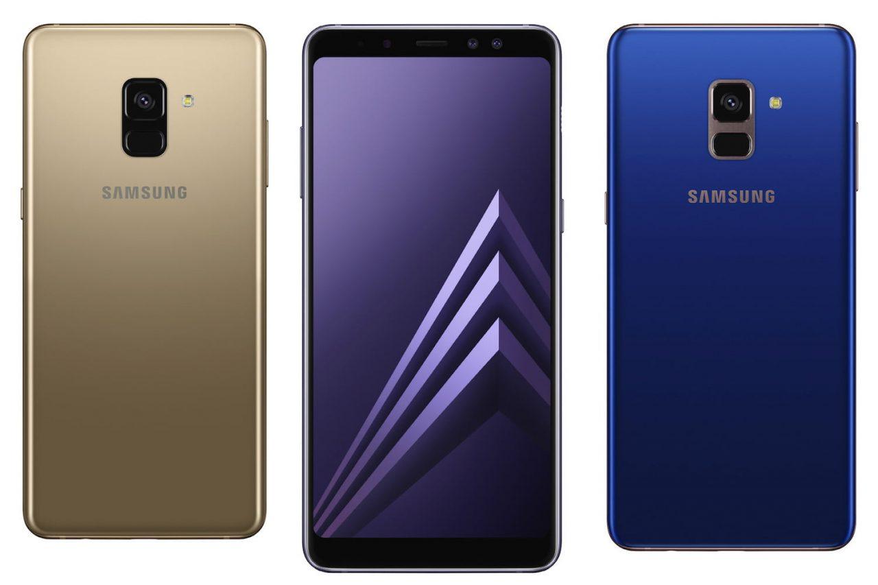 Samsung дополнила в России и Украине линейку A: Galaxy A8 и A8+