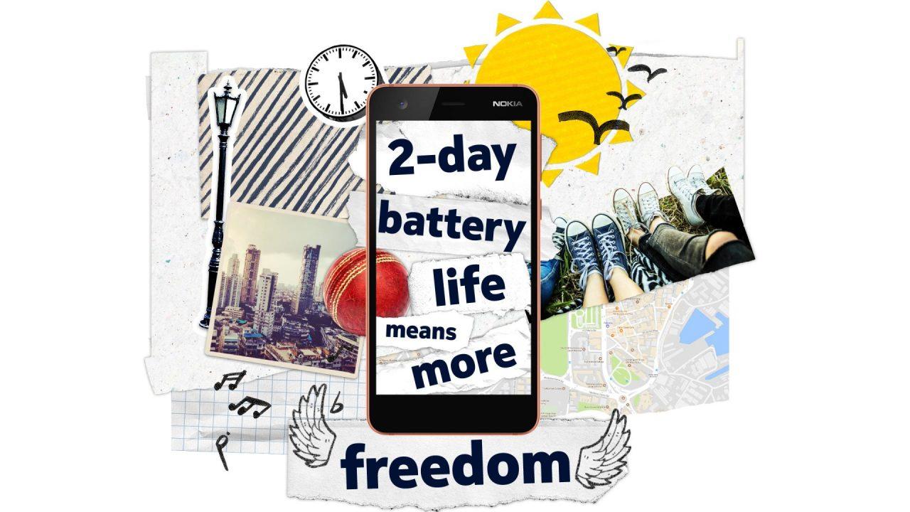 Nokia 2: бюджетный смартфон с большой батареей