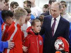 Photo of Владимир Путин поведал о будущей встрече с президентом ФИФА.