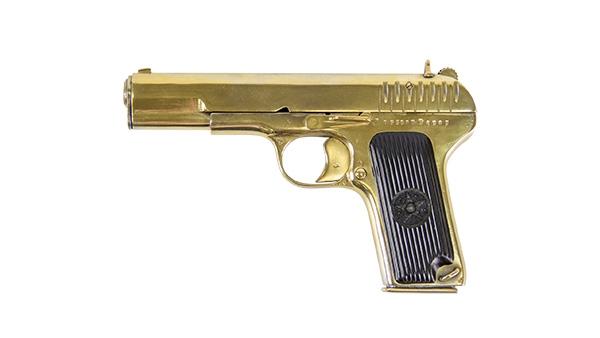 Золотой параш…пистолет