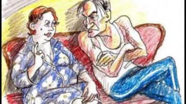 Photo of Диалог у телика: предвыборно-семейный
