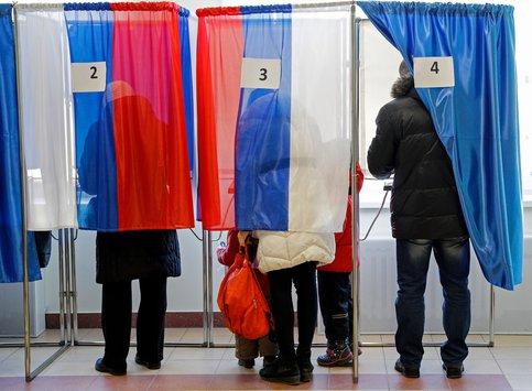 Явка на выборах президента РФ в Москве к 12 утра составила более 18 процентов