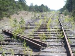 Украина: под Тернополем поезд попал в аварию из-за украденных рельсов