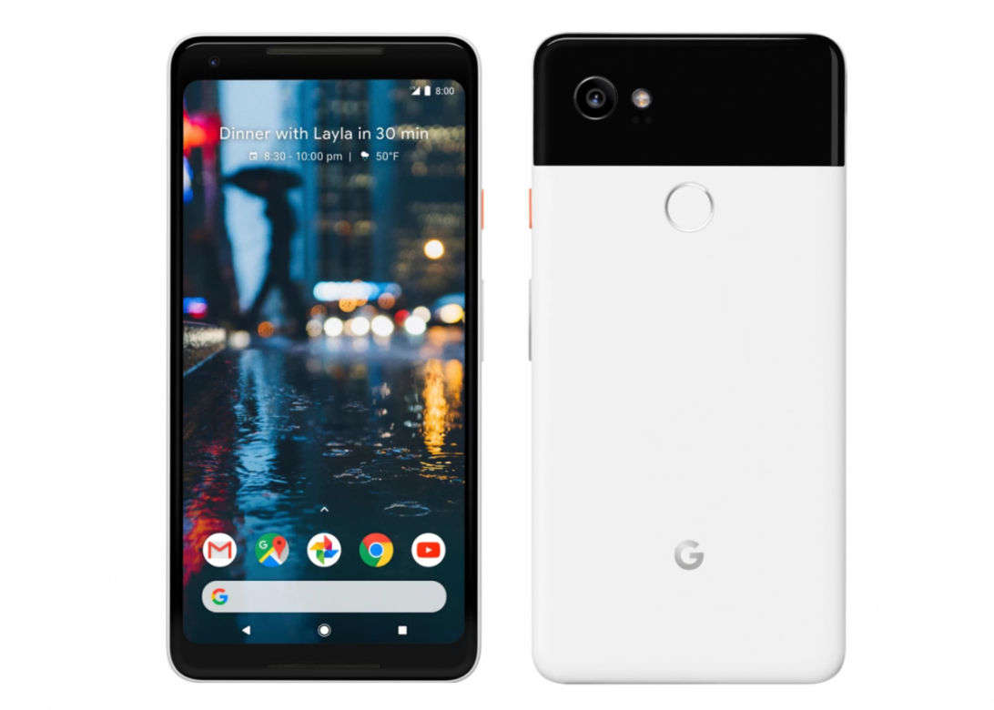 15 минут подзарядки обеспечат 7 часов автономности Google Pixel 2 и Pixel 2 XL