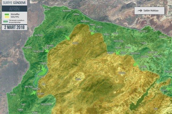 Сирия. Вчерашние события