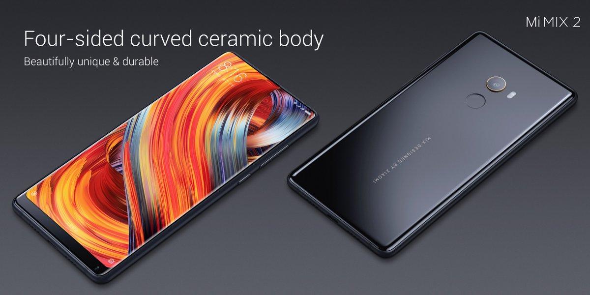 Xiaomi Mi MIX 2 получил модуль камеры от Sony, как в Mi6