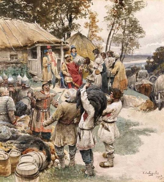 Петр Великий как жертва чужебесия. Истоки предательства: князь против волости