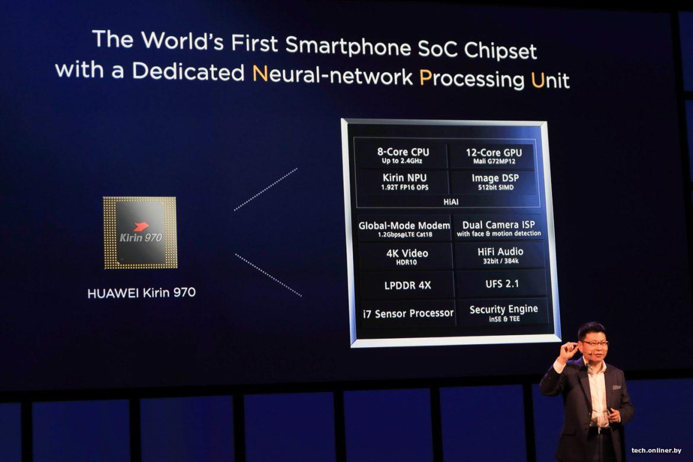 Photo of Huawei Kirin 970 стал 1-ым чипсетом с LTE категории 18