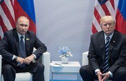 Потешное противоборство левых властителей: Путина и Трампа