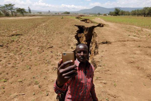 В Африке образовалась трещина, которая может разломить континент