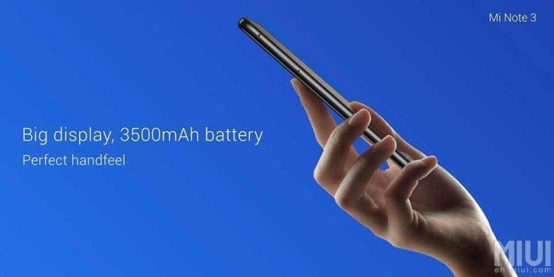Photo of Xiaomi Mi Note 3 получил хороший аккумулятор с возможностью резвой зарядки